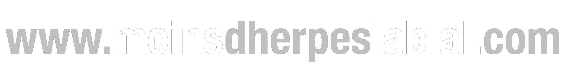 L'herpès labial est plus communément appelé bouton de fièvre à cause de l'apparition de vésicules en bouquet, sur ou autour des lèvres