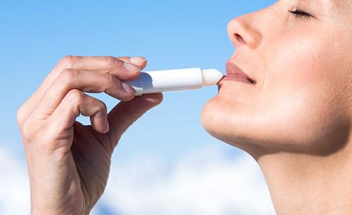 Prévenir un herpès labial